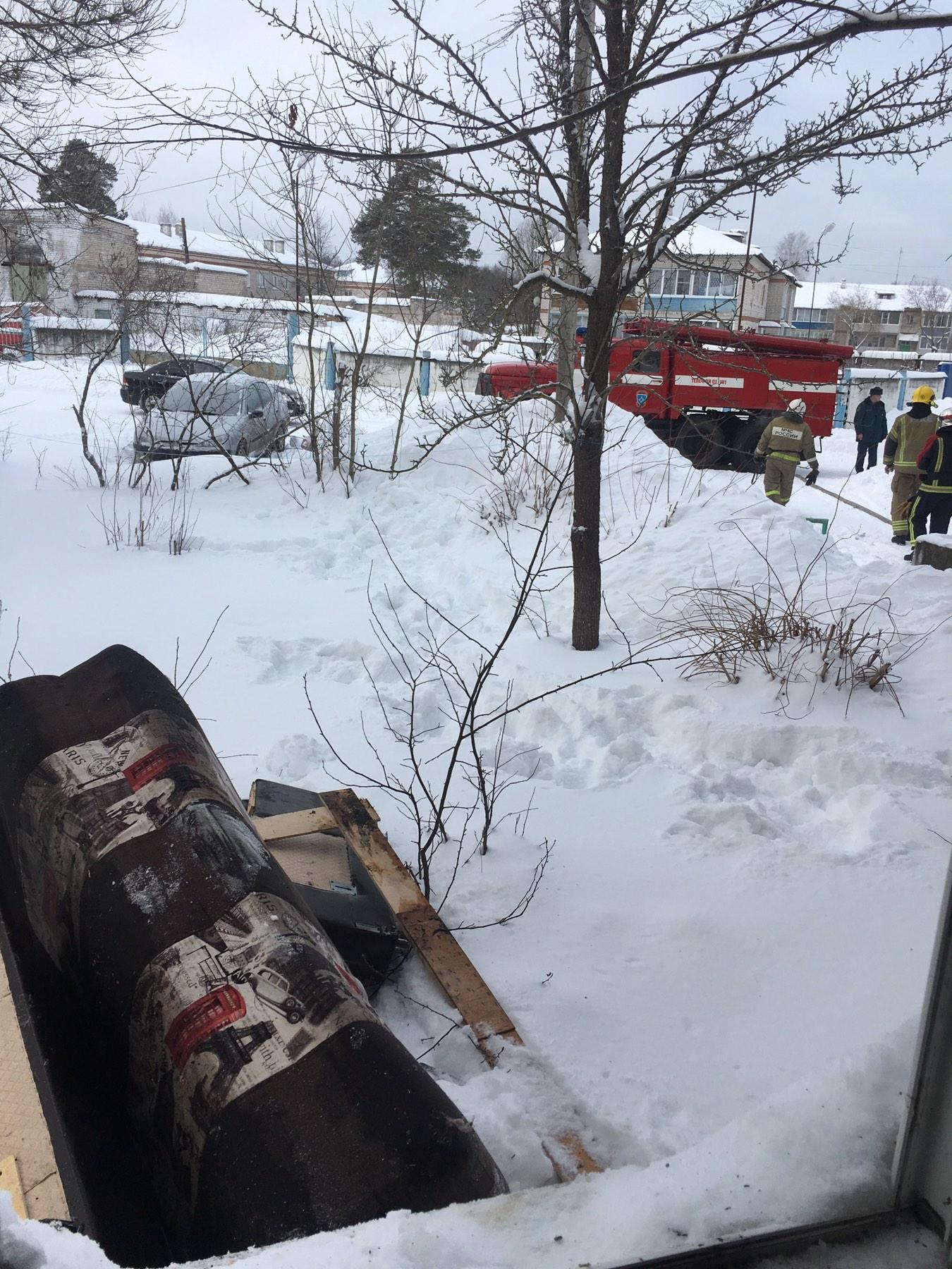 Пожар Ковровский район, п. Мелехово, ул. Юбилейная, д. 7