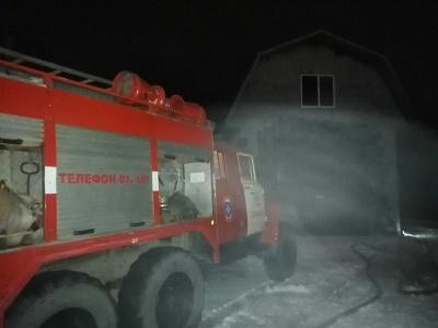 Пожар г. Собинка, ул. Молодежная, д. 13.