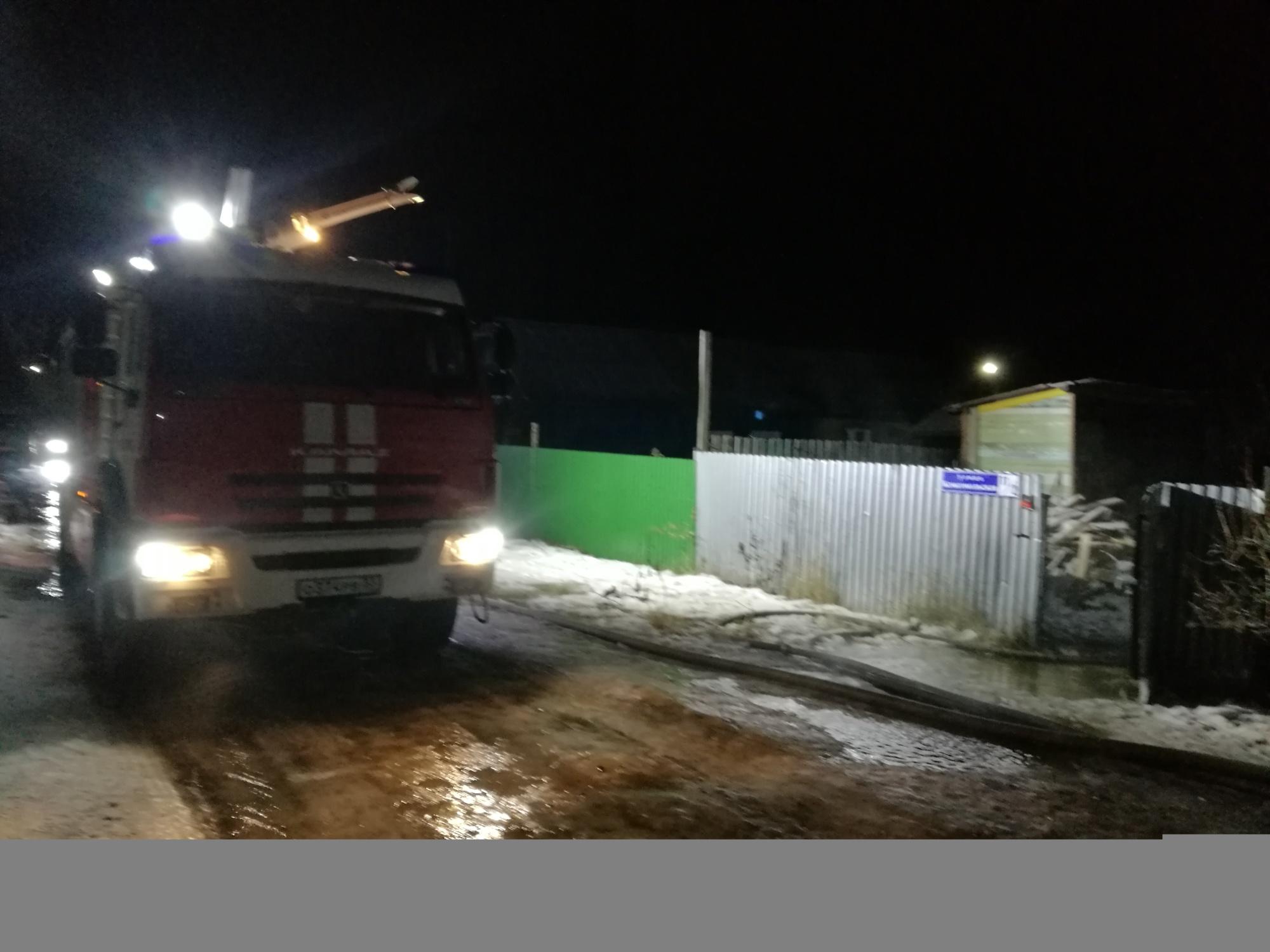 Пожар Собинский район д. Шелдяково, ул. Центральная д. 40