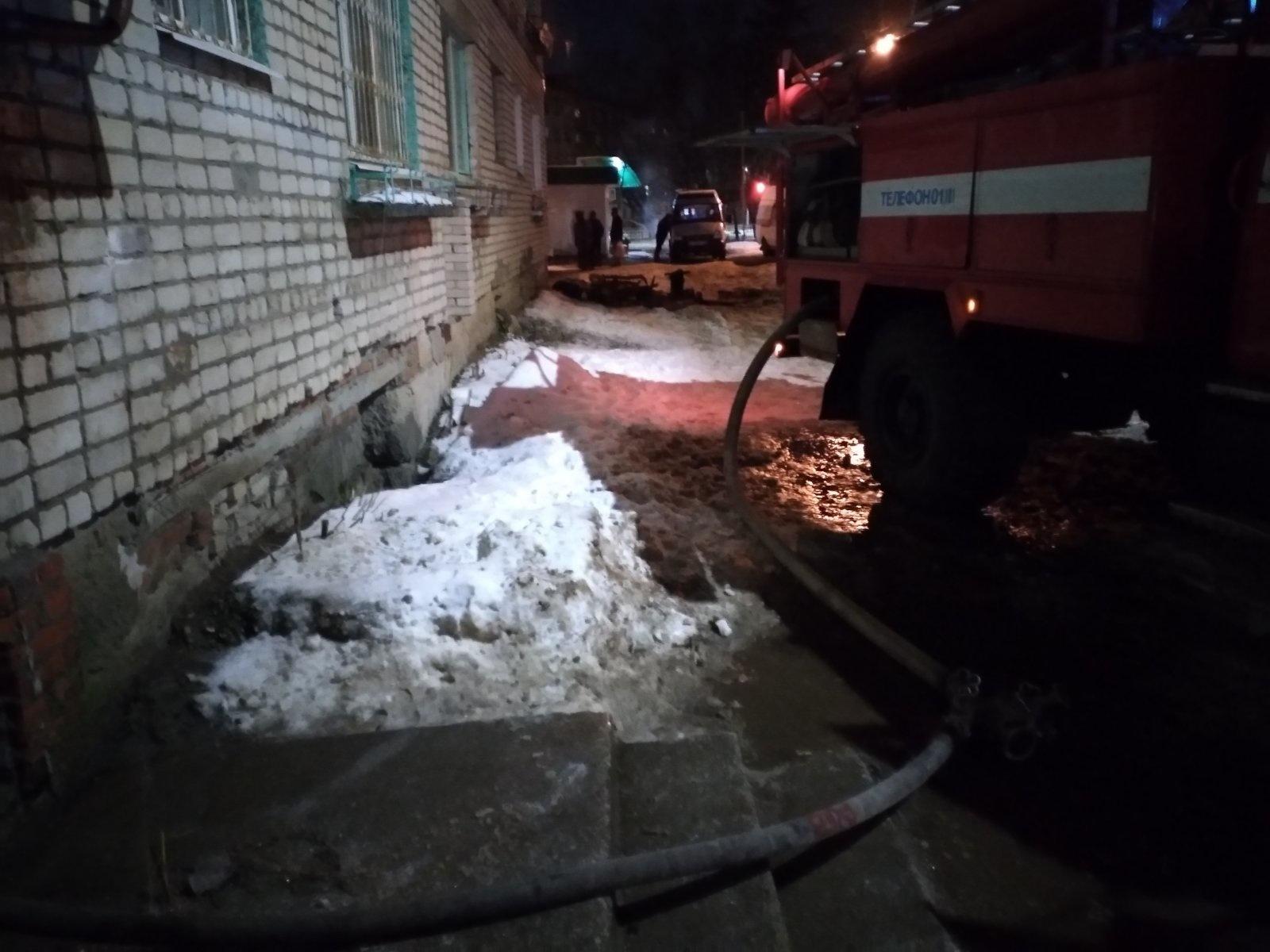 Пожар г. Гороховец, ул. Гагарина. д. 26, кв. 10