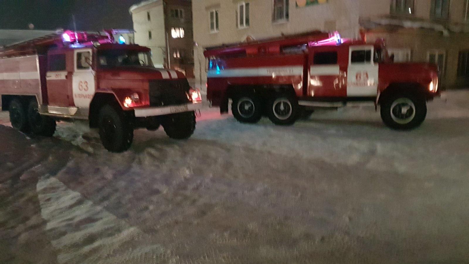 Пожар г.Камешково, ул. Ленина. д. 8, кв. 83