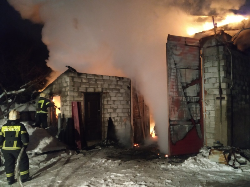 Пожар Ковровский район, п. Мелехово, ул. Новая, д. 40
