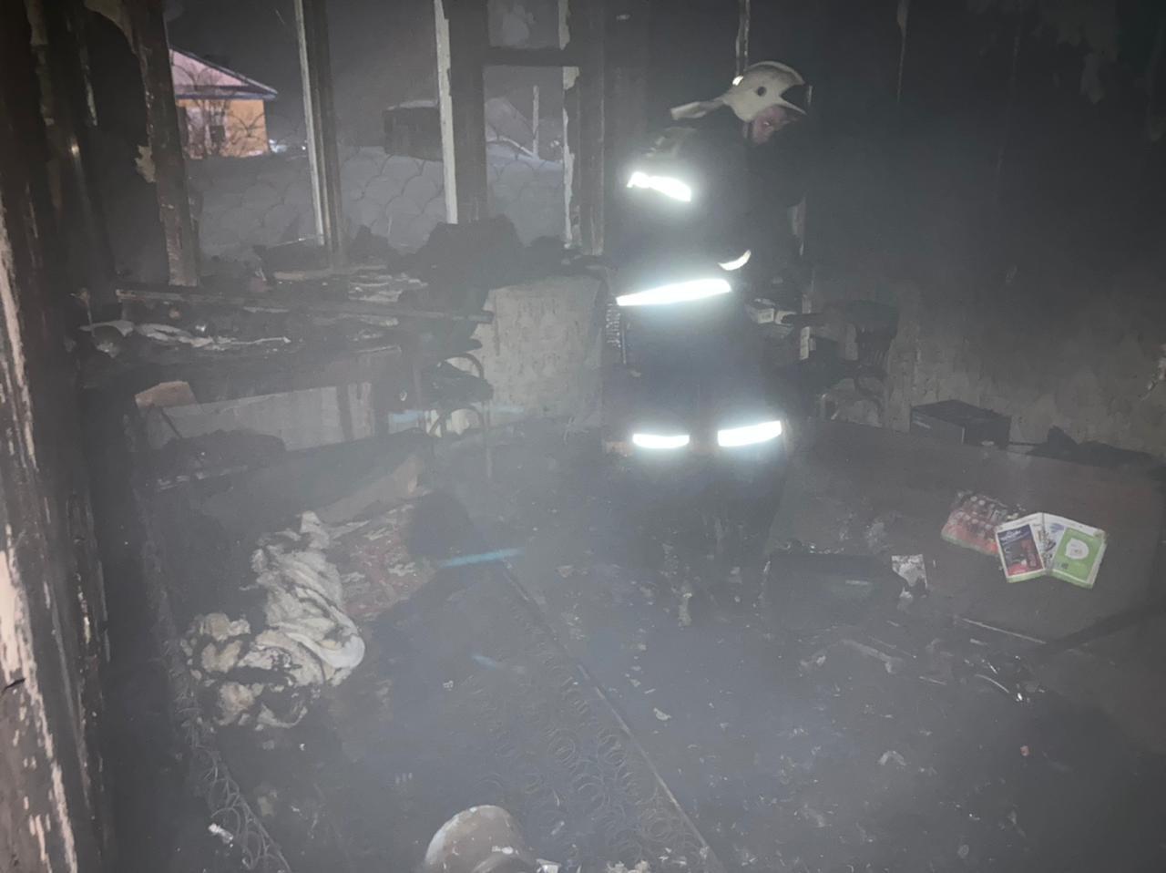 Пожар г. Кольчугино, ул. Гагарина, д. 6