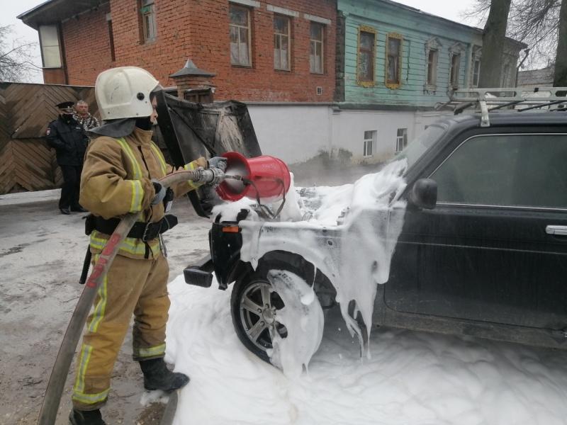 Уточненная информация по пожару г. Суздаль, ул. Ленина у д. 28