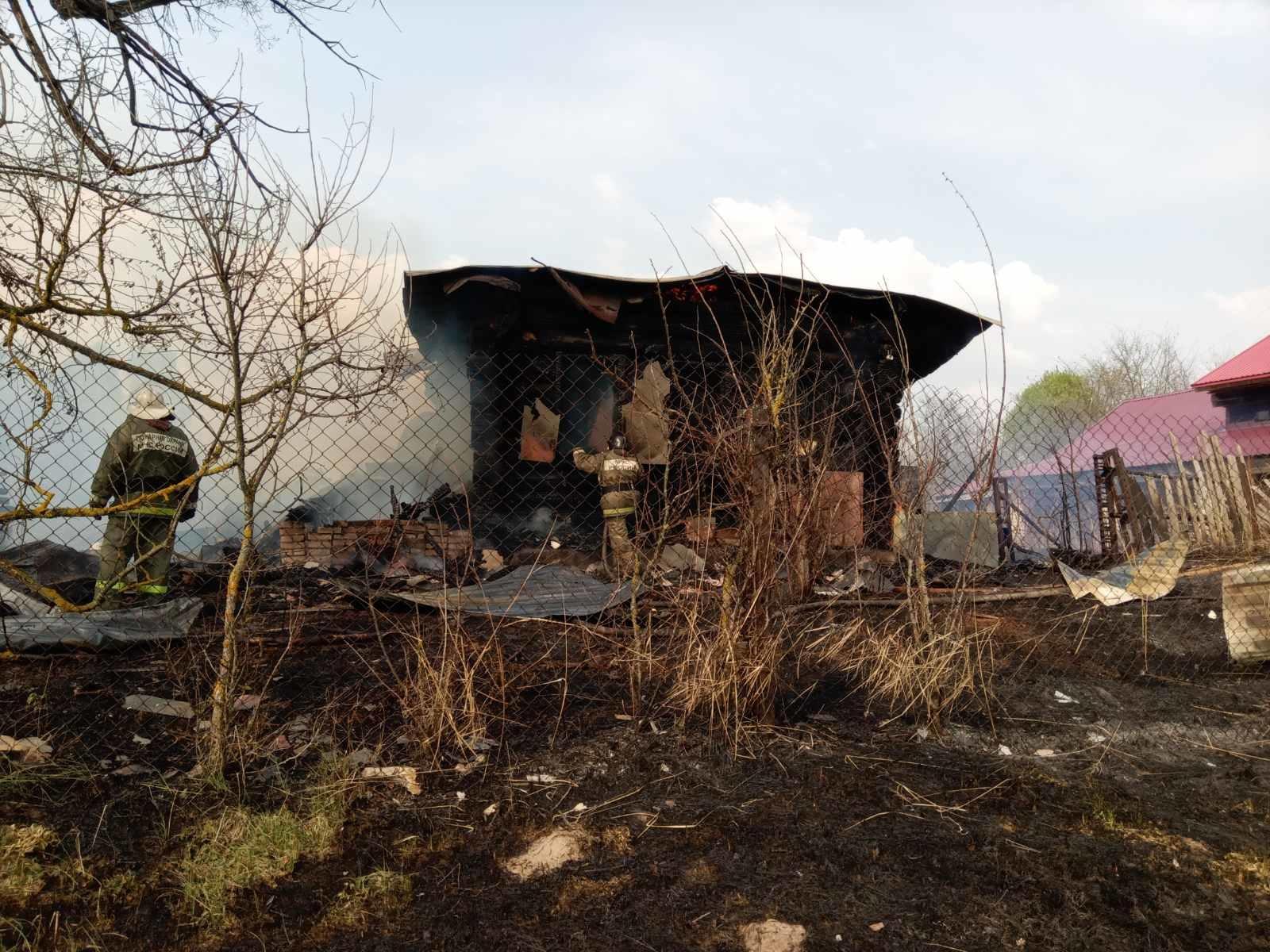 Пожар Вязниковский район, д. Жарцы, д. 31
