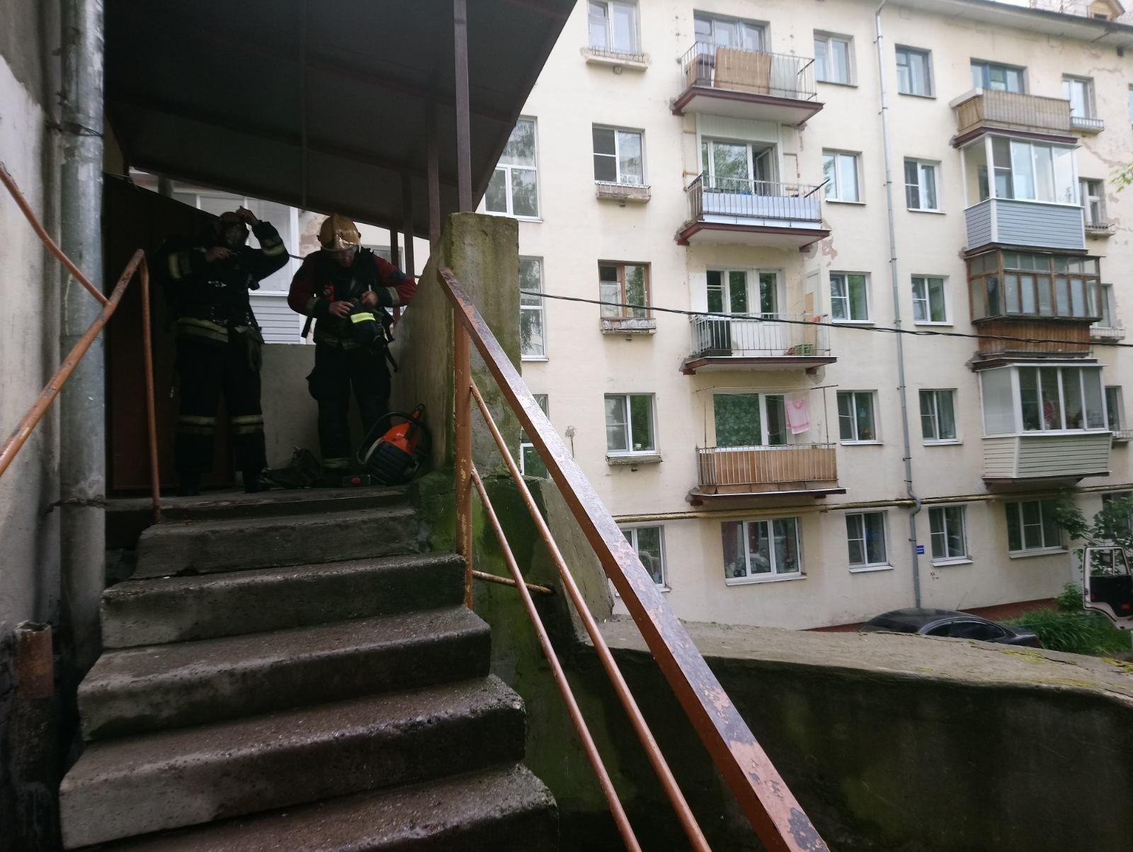 Пожар г. Камешково, ул. Молодежная, д. 7.