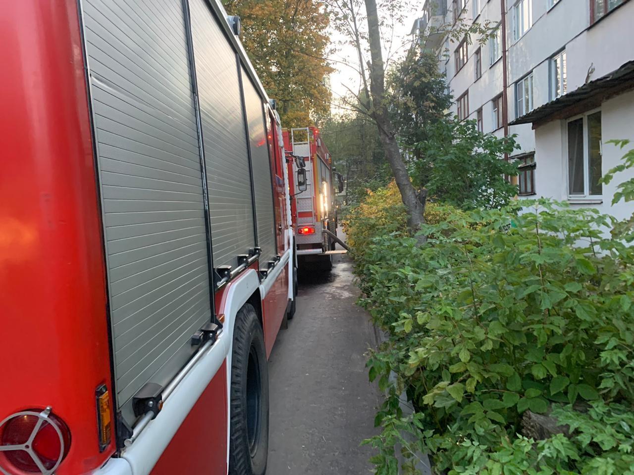 Пожар г. Собинка, ул. Молодежная, д. 5