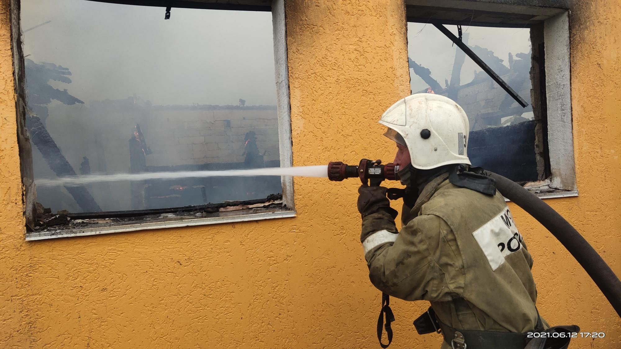 Пожар Гороховецкий район, д. Куприяново, ул. Сиреневая, д. 40
